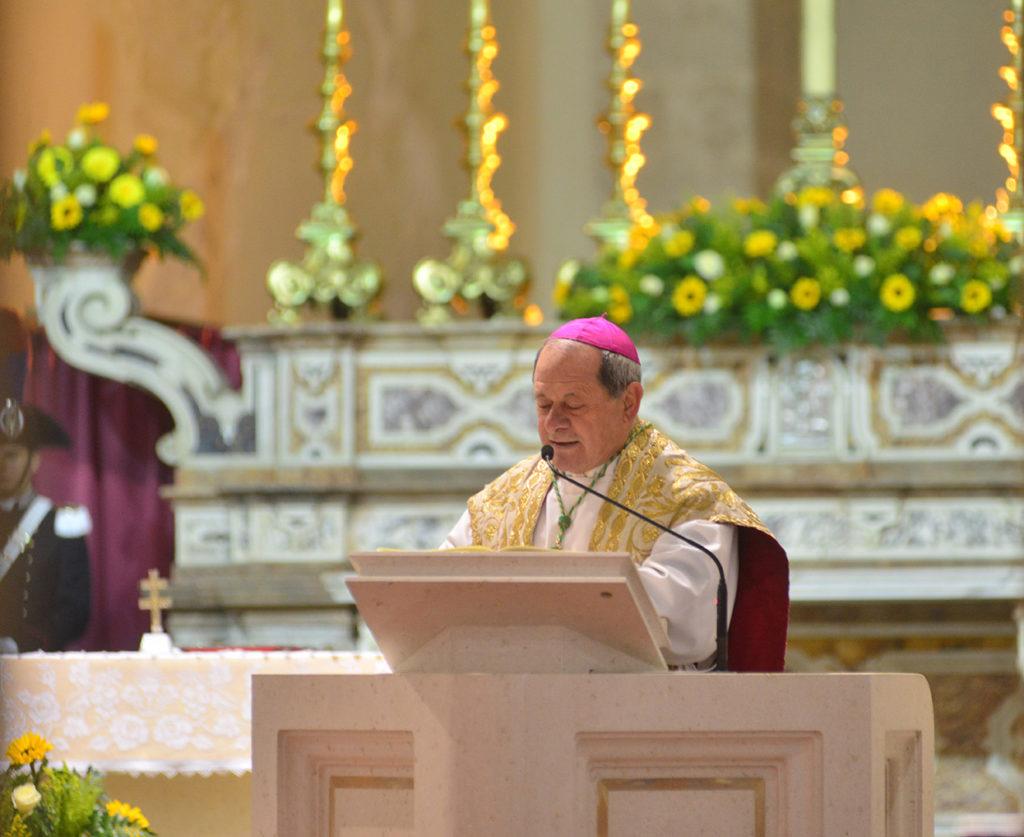 """<span class=""""entry-title-primary"""">""""L'elevazione a Basilica Minore della nostra Concattedrale è un dono ed una responsabilità""""</span> <span class=""""entry-subtitle"""">Il saluto di monsignor Francesco Oliva</span>"""
