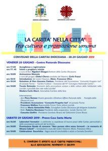 """<span class=""""entry-title-primary"""">""""La Carità nella città tra cultura e promozione umana""""</span> <span class=""""entry-subtitle"""">Convegno Caritas a Locri - venerdì 28 e sabato 29 giugno 2019</span>"""