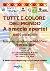 """<span class=""""entry-title-primary"""">Tutti i Colori del Mondo…a braccia aperte!</span> <span class=""""entry-subtitle"""">Martedì 16 luglio - a Locri</span>"""