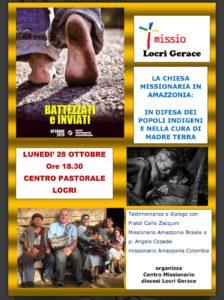 Battezzati e inviati: il mese missionario nella diocesi di Locri-Gerace